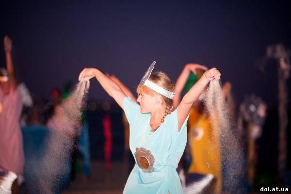 Конкурс мисс жемчужина в лагере